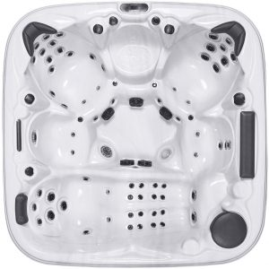 HydroLux HL-120 6 Seater Lounger Hot Tub Top View
