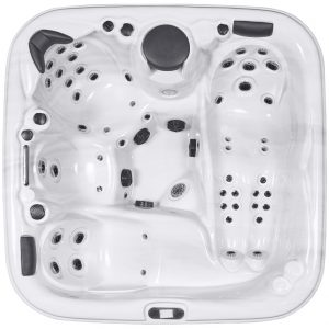 HydroLux HL-894 Seater Lounger Hot Tub Top View