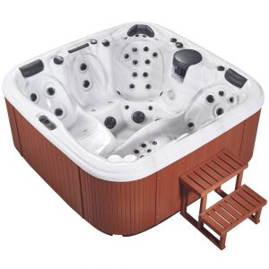 HydroLux Spas HL-89 4 Seater Lounger Hot Tub